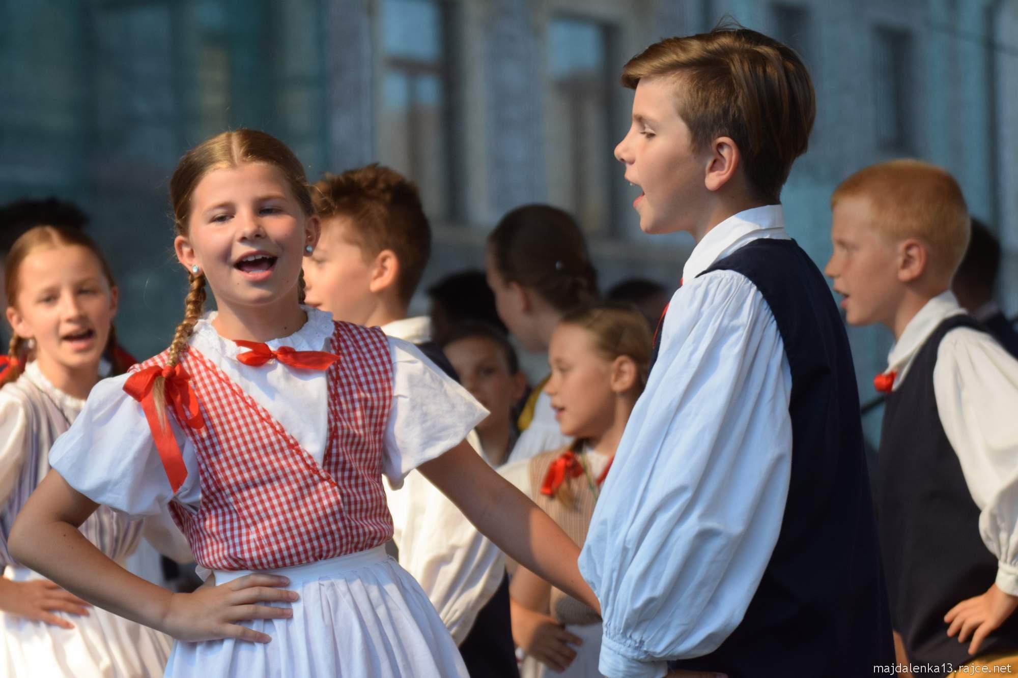 Folklorní festival Pardubice - Hradec Králové 2019 - Pernštýnská noc